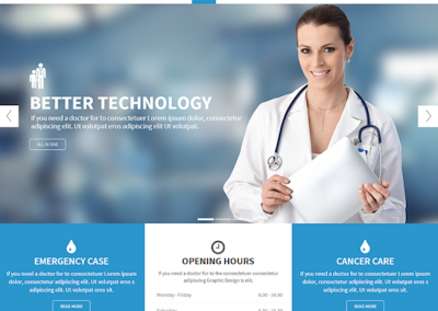 Family Doctor Website Example