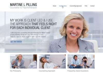 Therapist Example Website