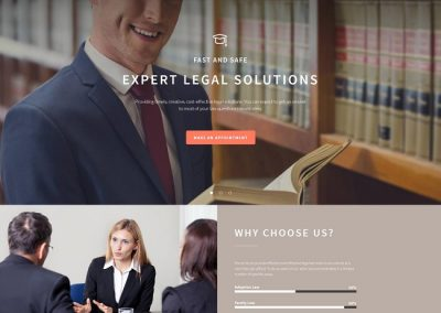 Lawyer Example Website