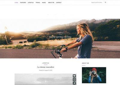 Blogger Example Website