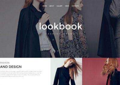 Fashion Designer Website Example
