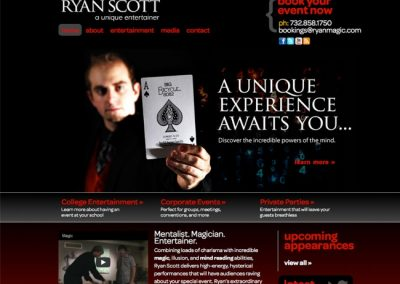 Magician Example Website