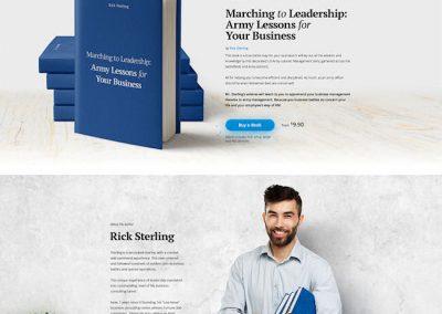 Book Author Example Website