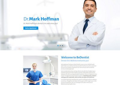 Dentist Example Website