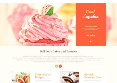 Bakery Example Website