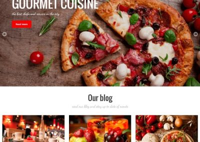 Italian Restaurant Example Website